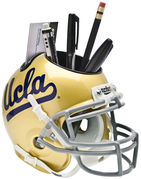 UCLA Bruins Miniature Football Helmet Desk Caddy