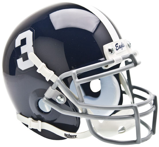Georgia Southern Eagles Mini XP Authentic Helmet Schutt