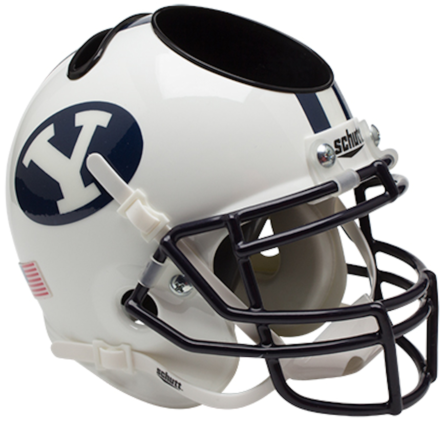 Brigham Young Cougars Miniature Football Helmet Desk Caddy