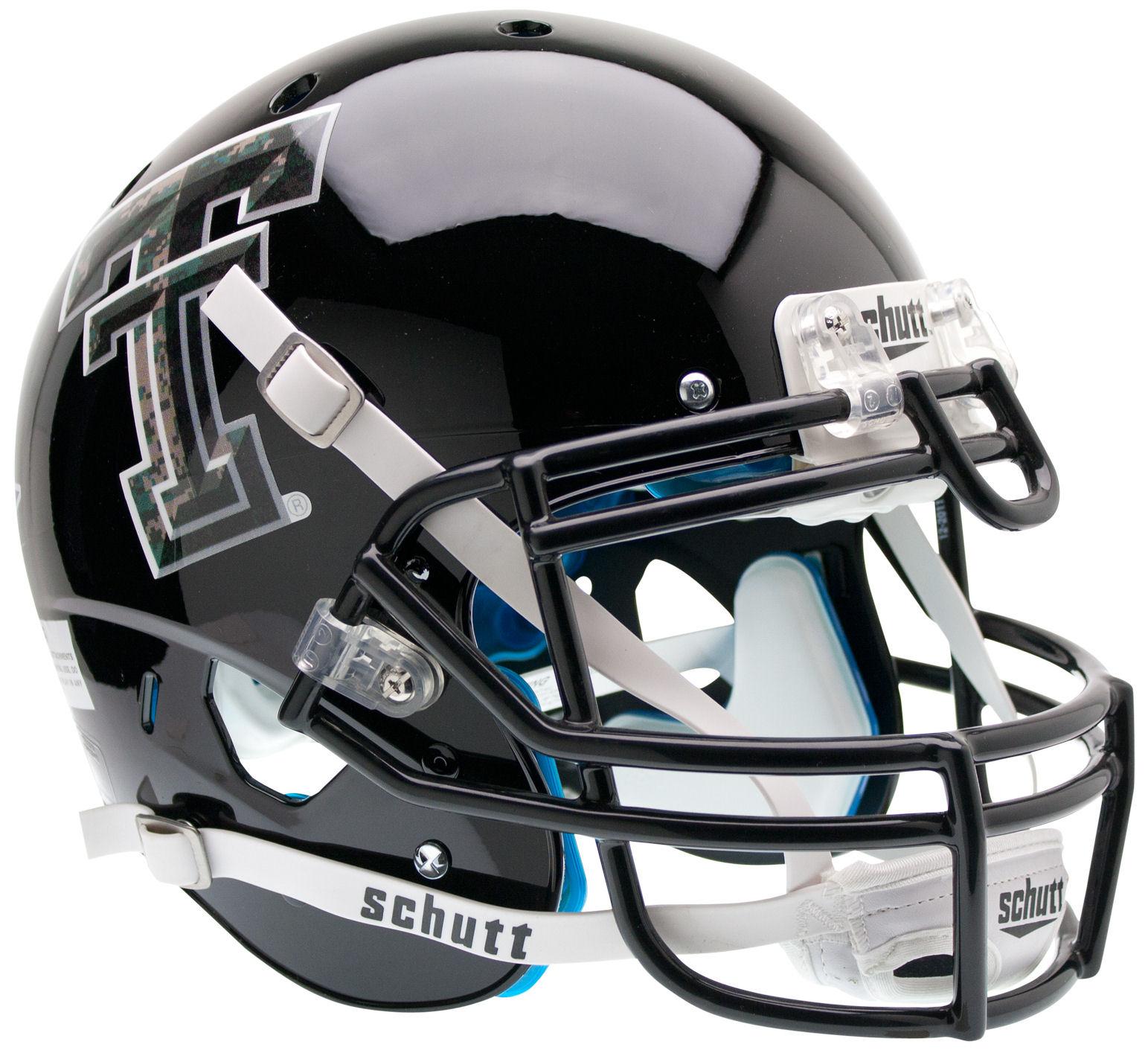 Texas Tech Red Raiders Authentic College XP Football Helmet Schutt <B>Camo Logo</B>