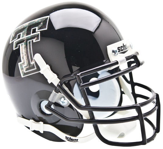 Texas Tech Red Raiders Mini XP Authentic Helmet Schutt <B>Camo Logo</B>