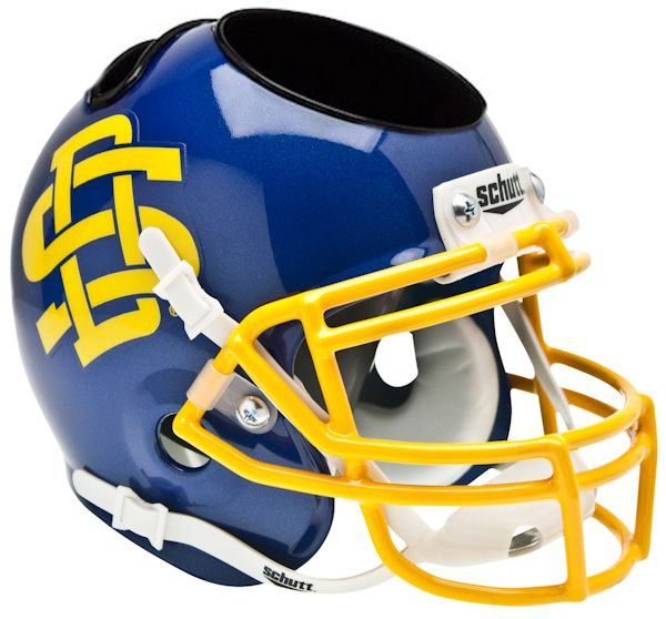 South Dakota State Jackrabbits Miniature Football Helmet Desk Caddy
