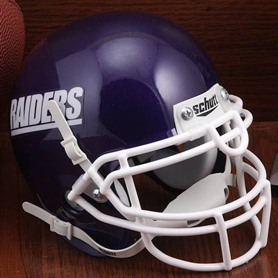 Mount Union Purple Raiders Mini XP Authentic Helmet Schutt