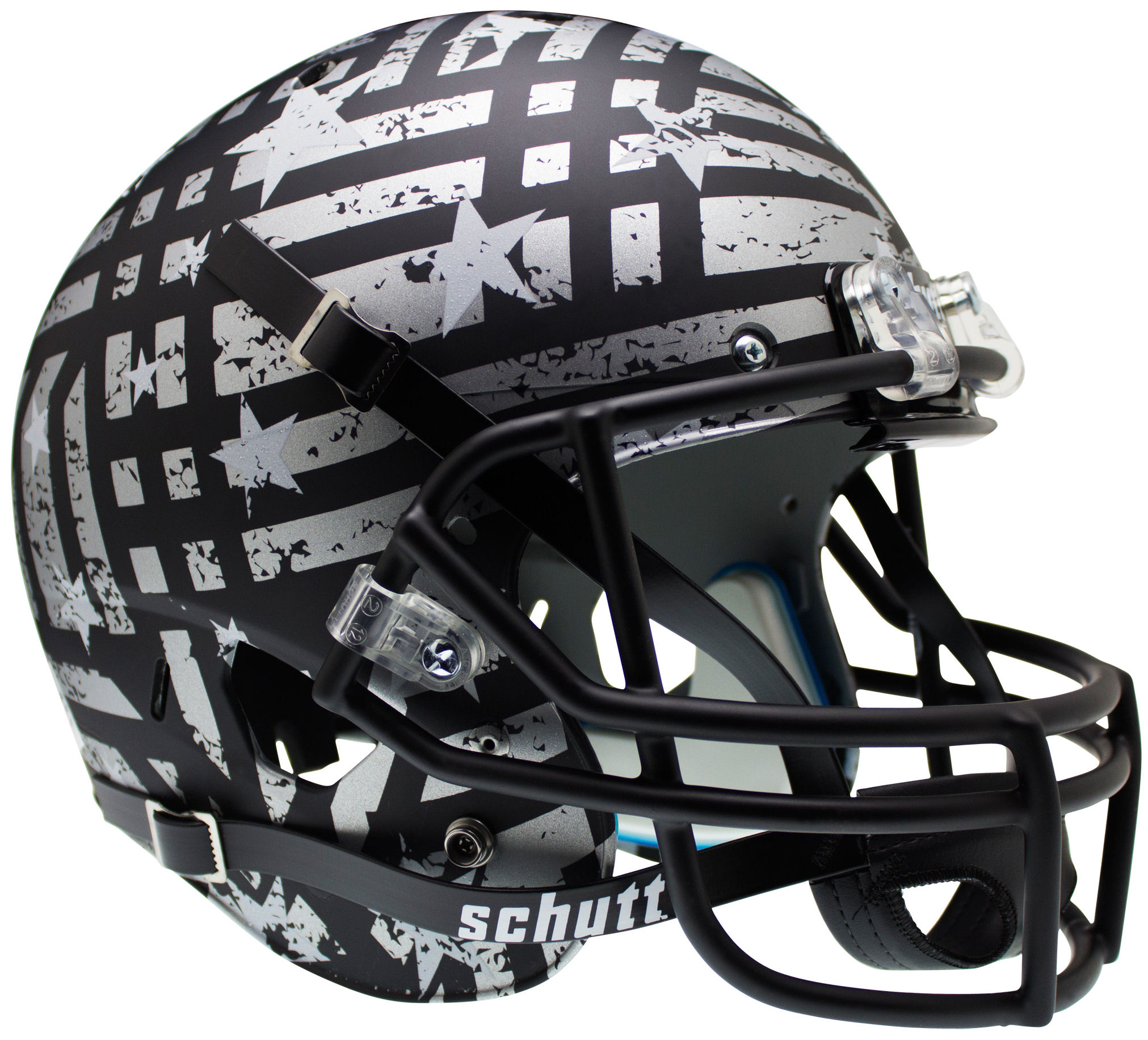 South Florida Bulls Full XP Replica Football Helmet Schutt <B>Wounded Warrior</B>