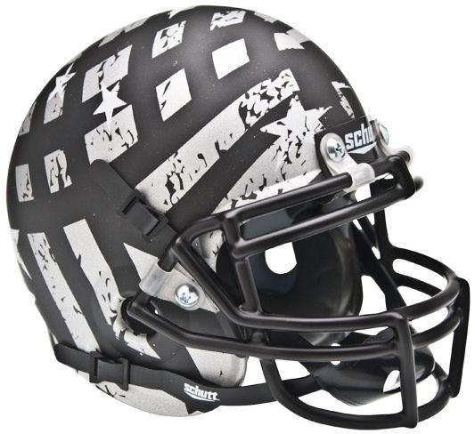 South Florida Bulls Mini XP Authentic Helmet Schutt <B>Wounded Warrior</B>