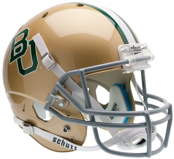 Baylor Bears Full XP Replica Football Helmet Schutt