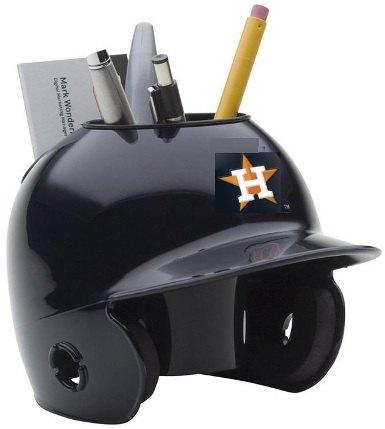 Houston Astros Miniature Batters Helmet Desk Caddy