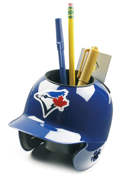Toronto Blue Jays Miniature Batters Helmet Desk Caddy