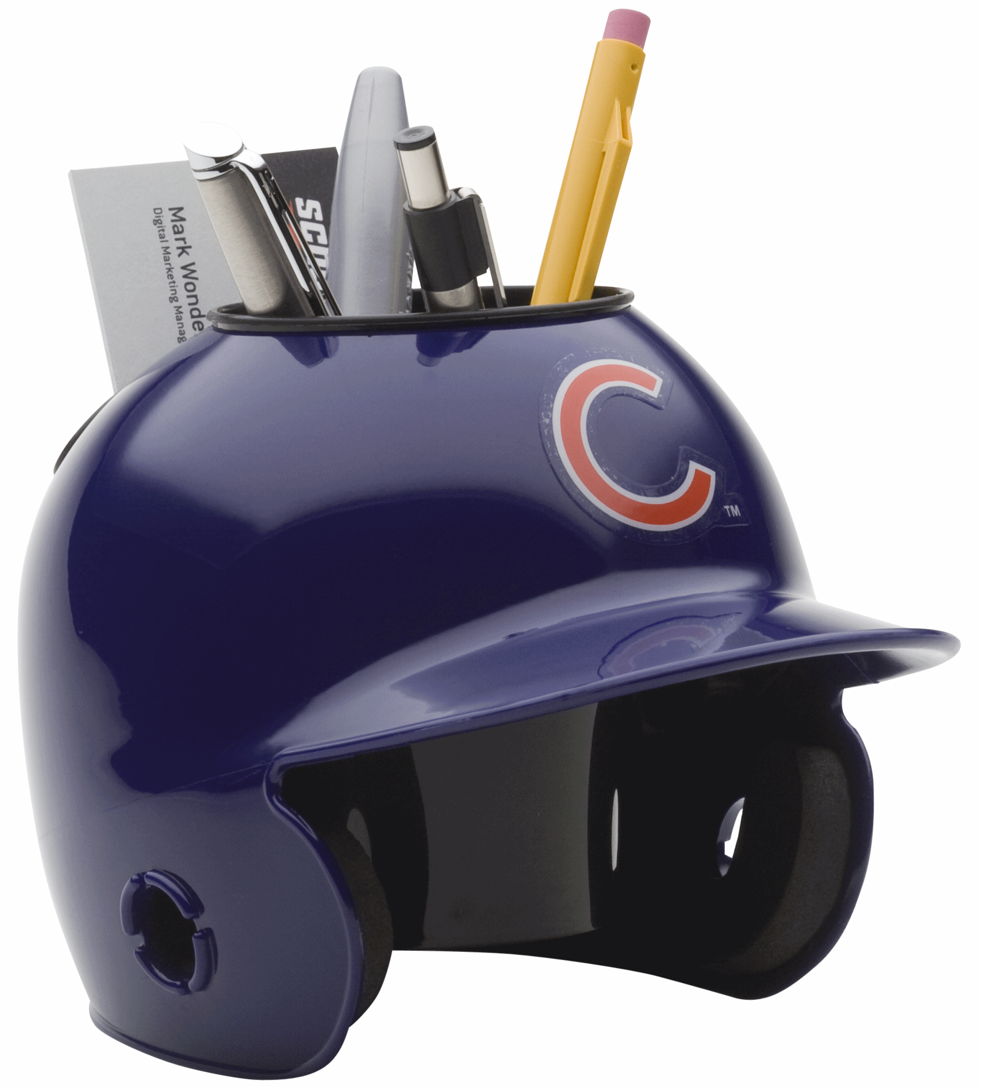 Chicago Cubs Miniature Batters Helmet Desk Caddy