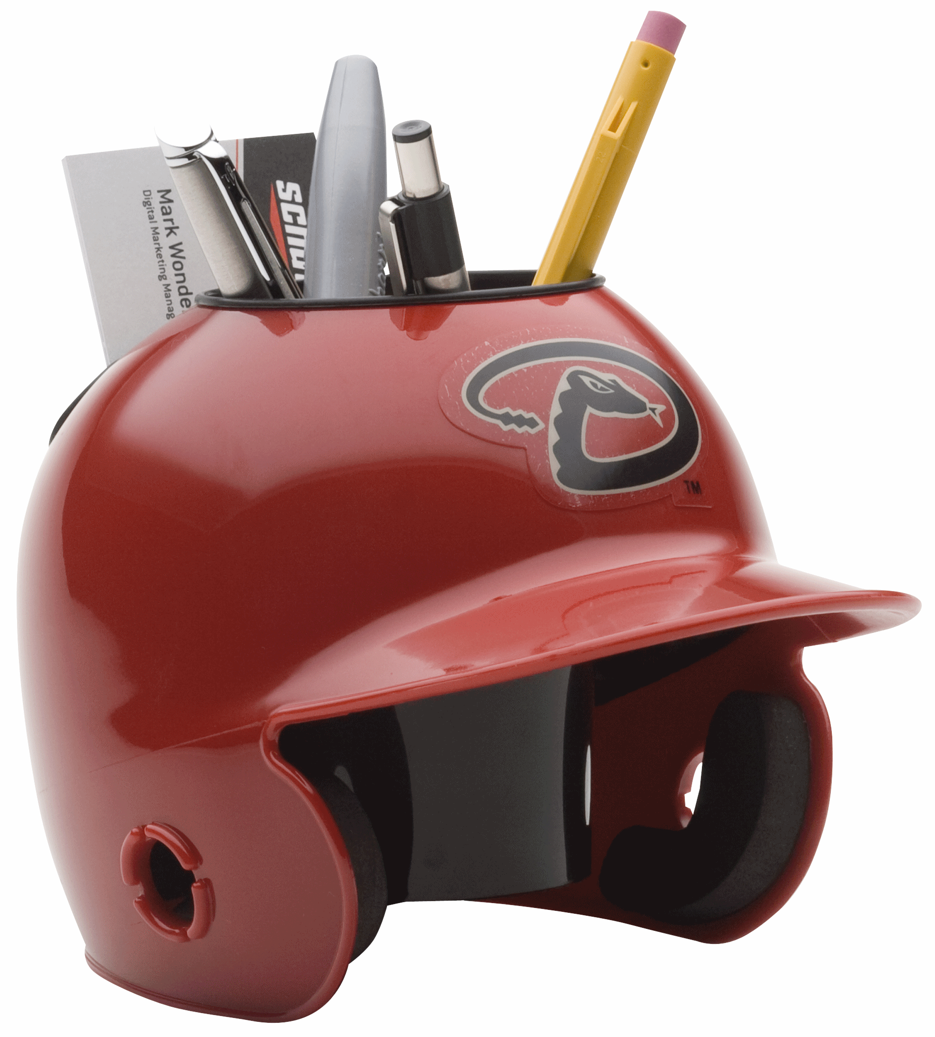 Arizona Diamondbacks Miniature Batters Helmet Desk Caddy