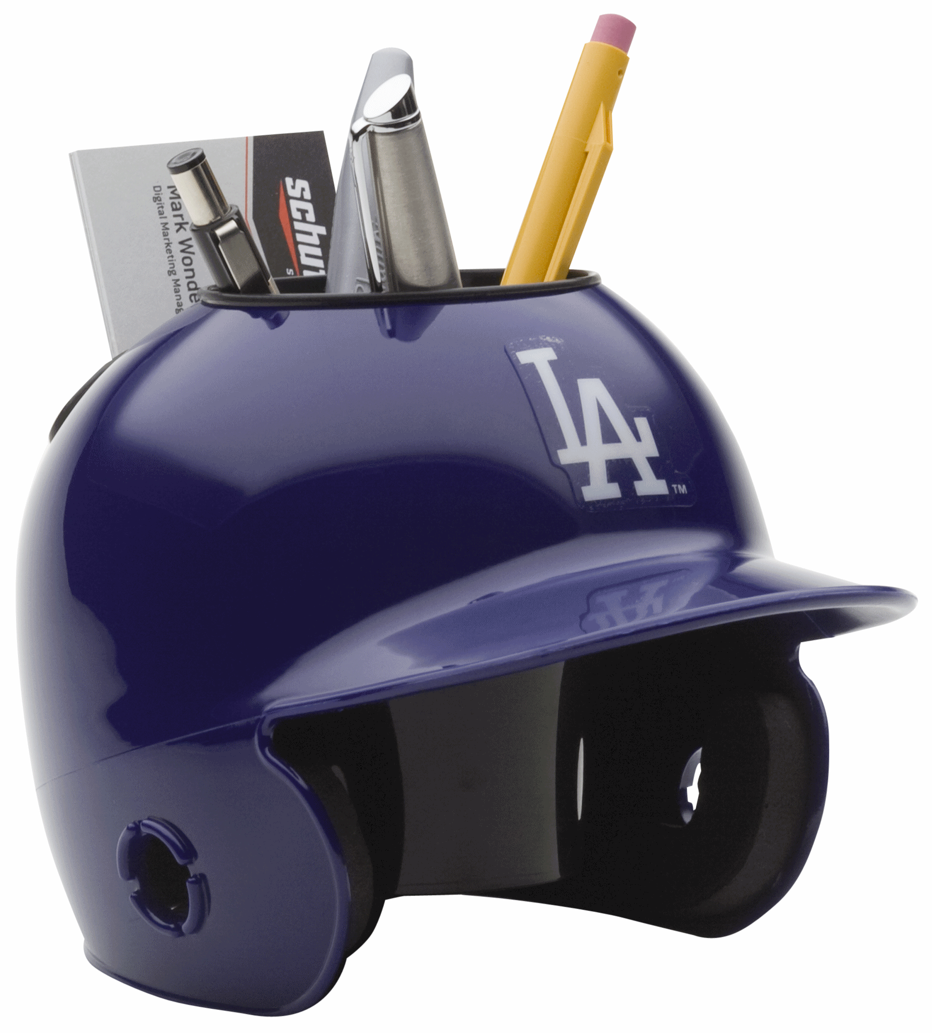 Los Angeles Dodgers Miniature Batters Helmet Desk Caddy