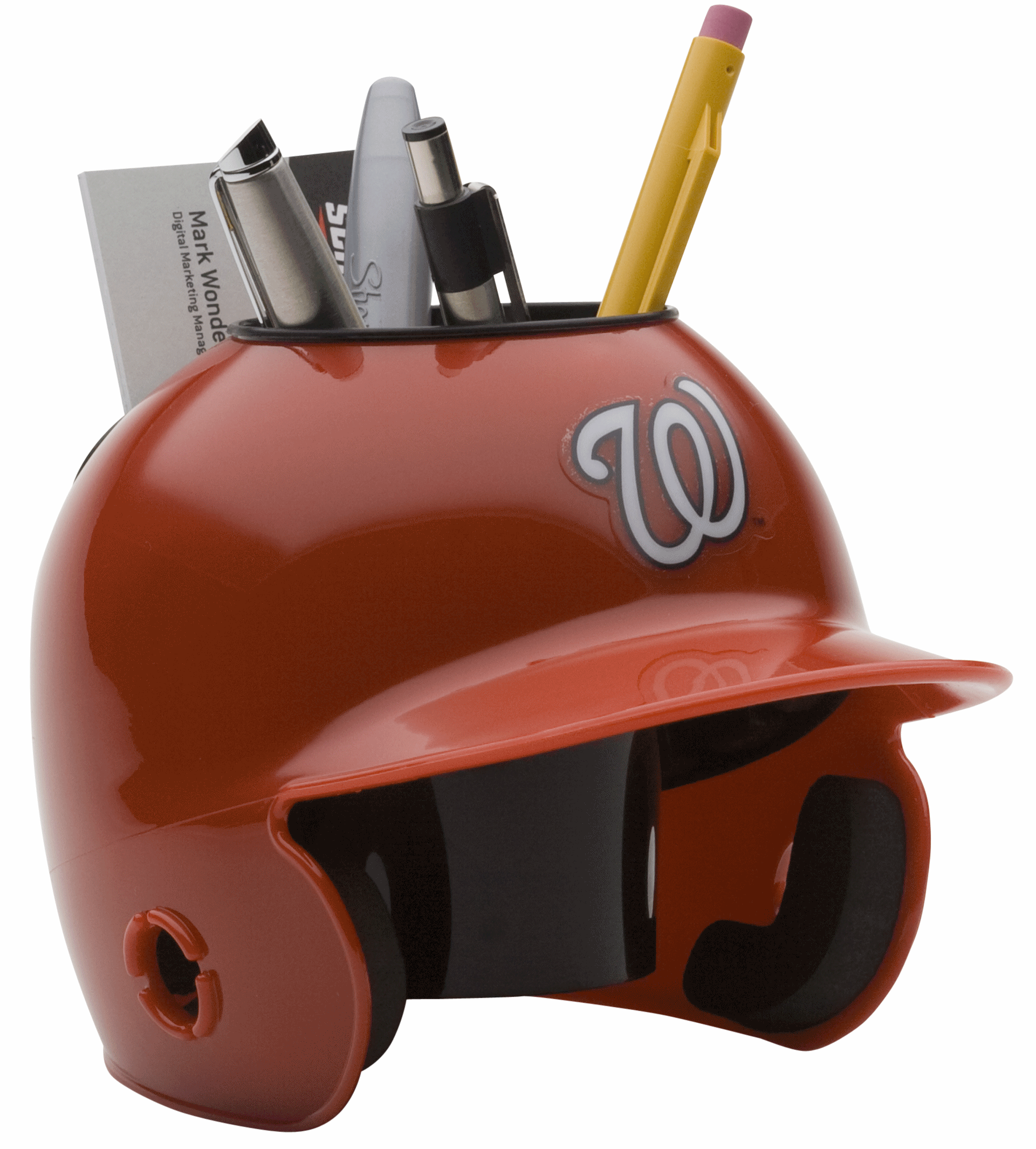 Washington Nationals Miniature Batters Helmet Desk Caddy