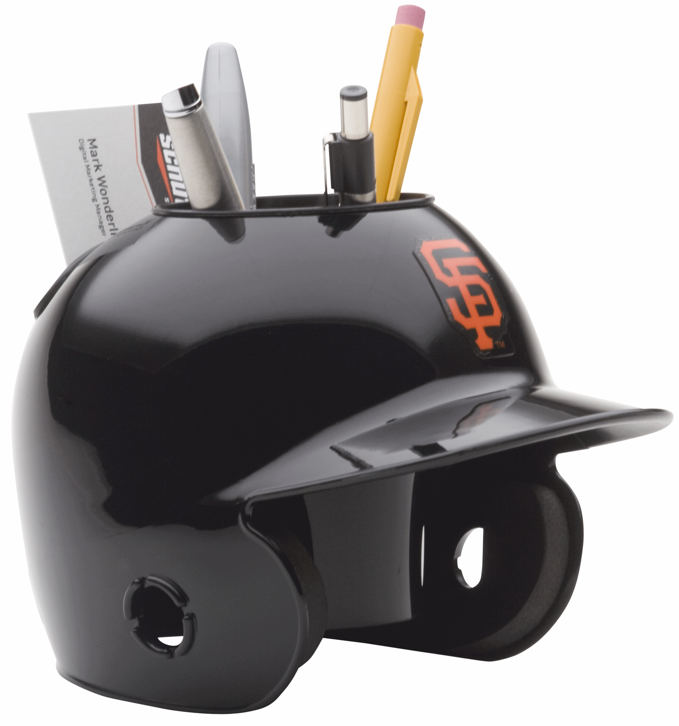 San Francisco Giants Miniature Batters Helmet Desk Caddy