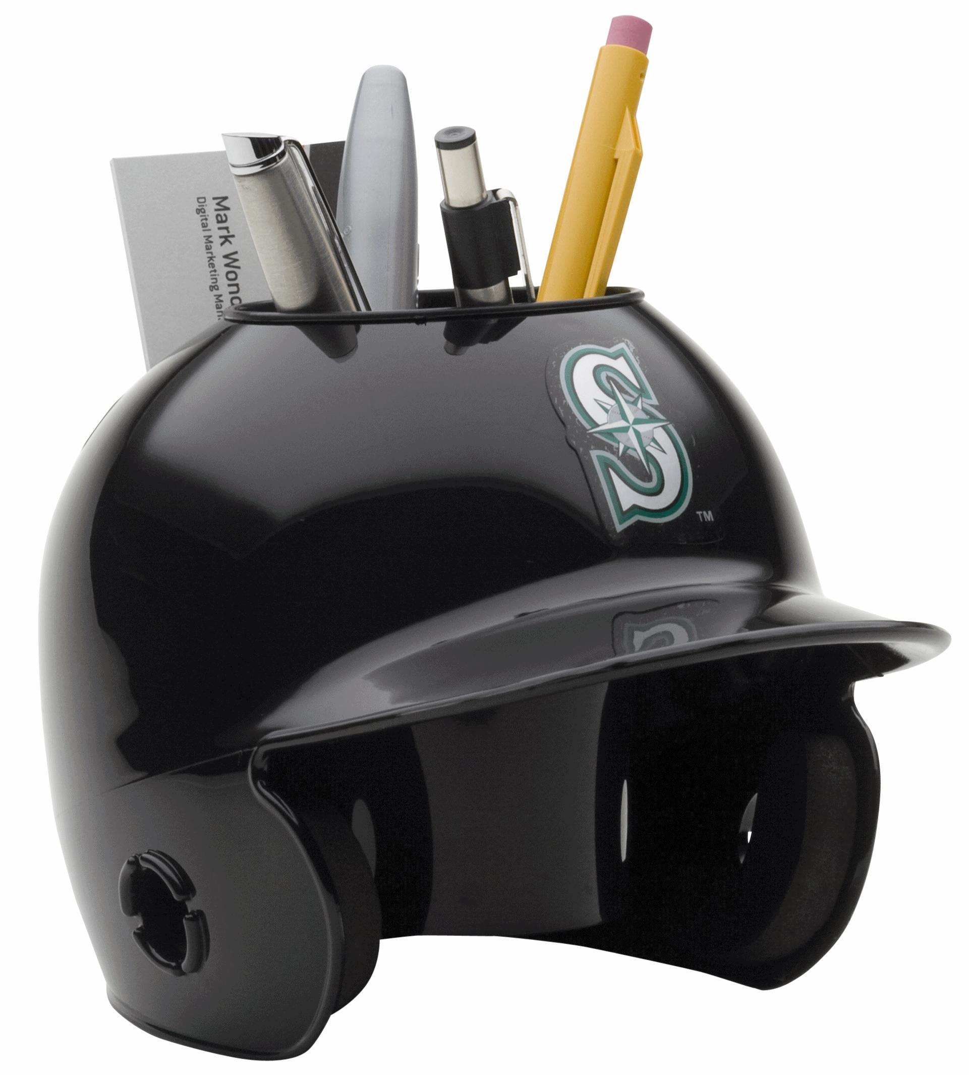 Seattle Mariners Miniature Batters Helmet Desk Caddy