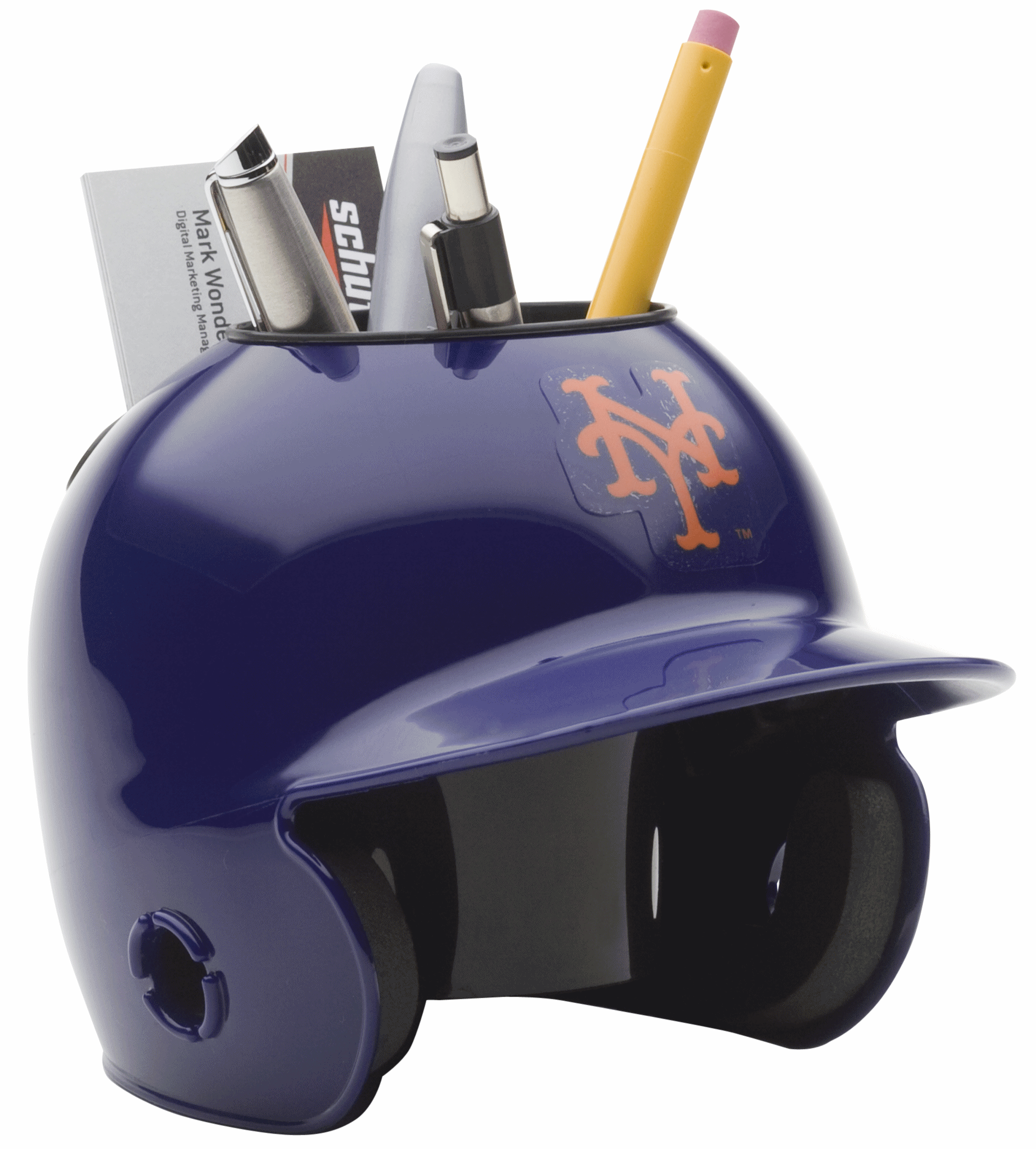 New York Mets Miniature Batters Helmet Desk Caddy