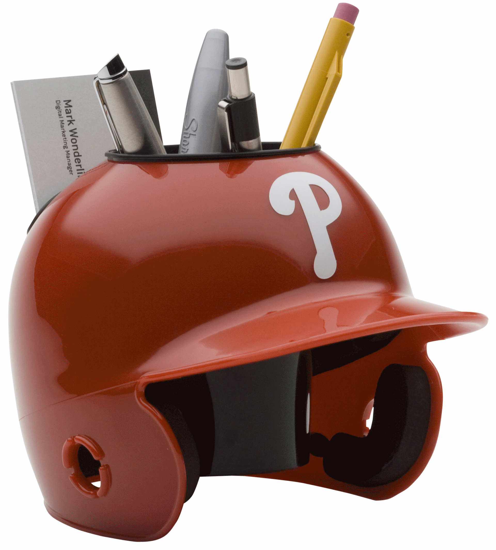 Philadelphia Phillies Miniature Batters Helmet Desk Caddy