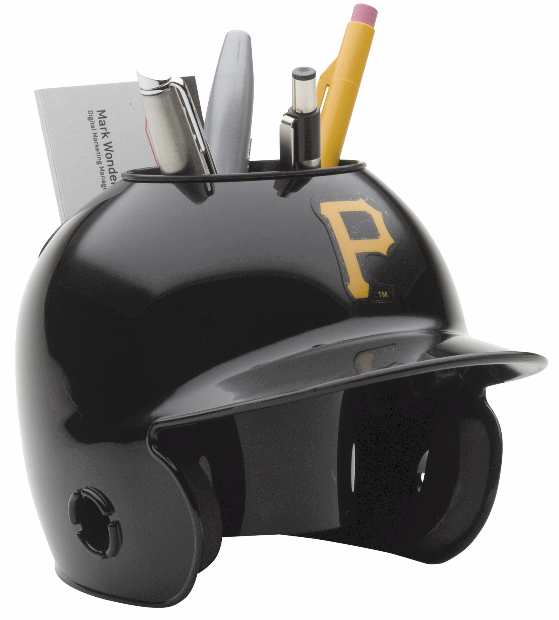Pittsburgh Pirates Miniature Batters Helmet Desk Caddy