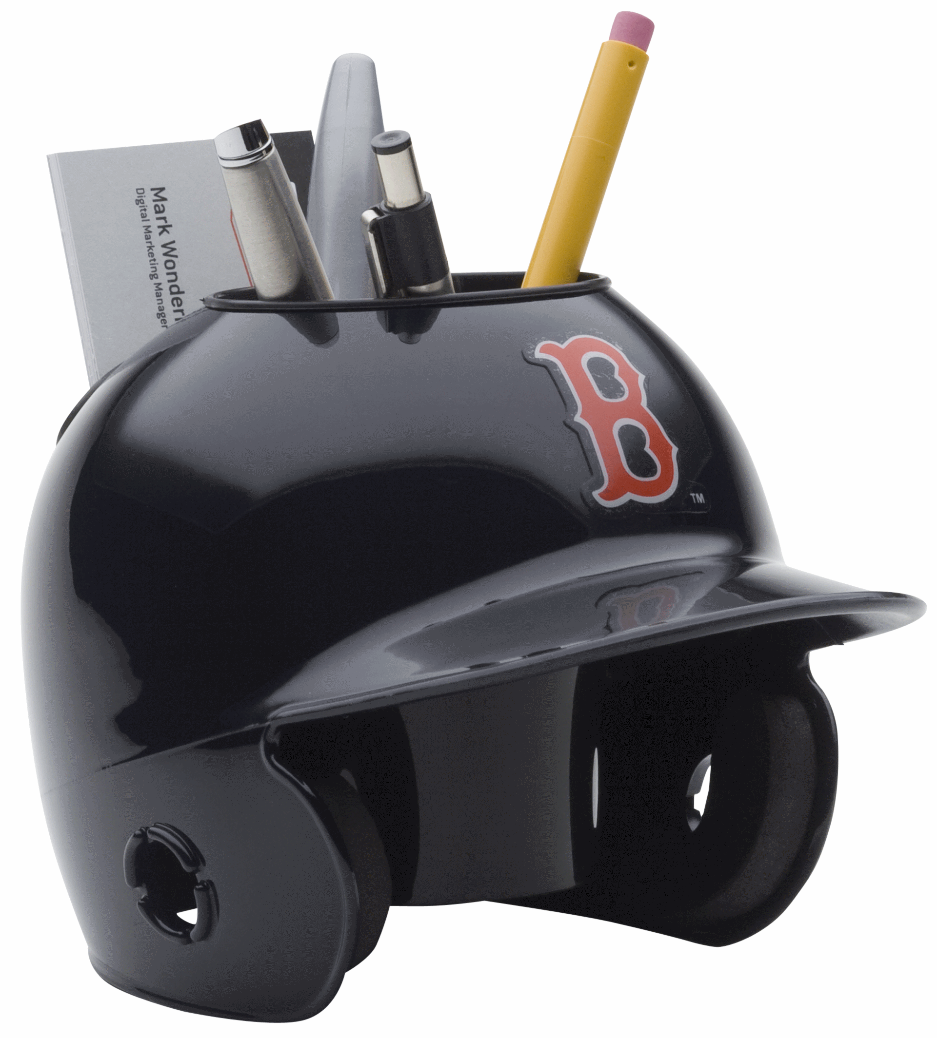 Boston Red Sox Miniature Batters Helmet Desk Caddy