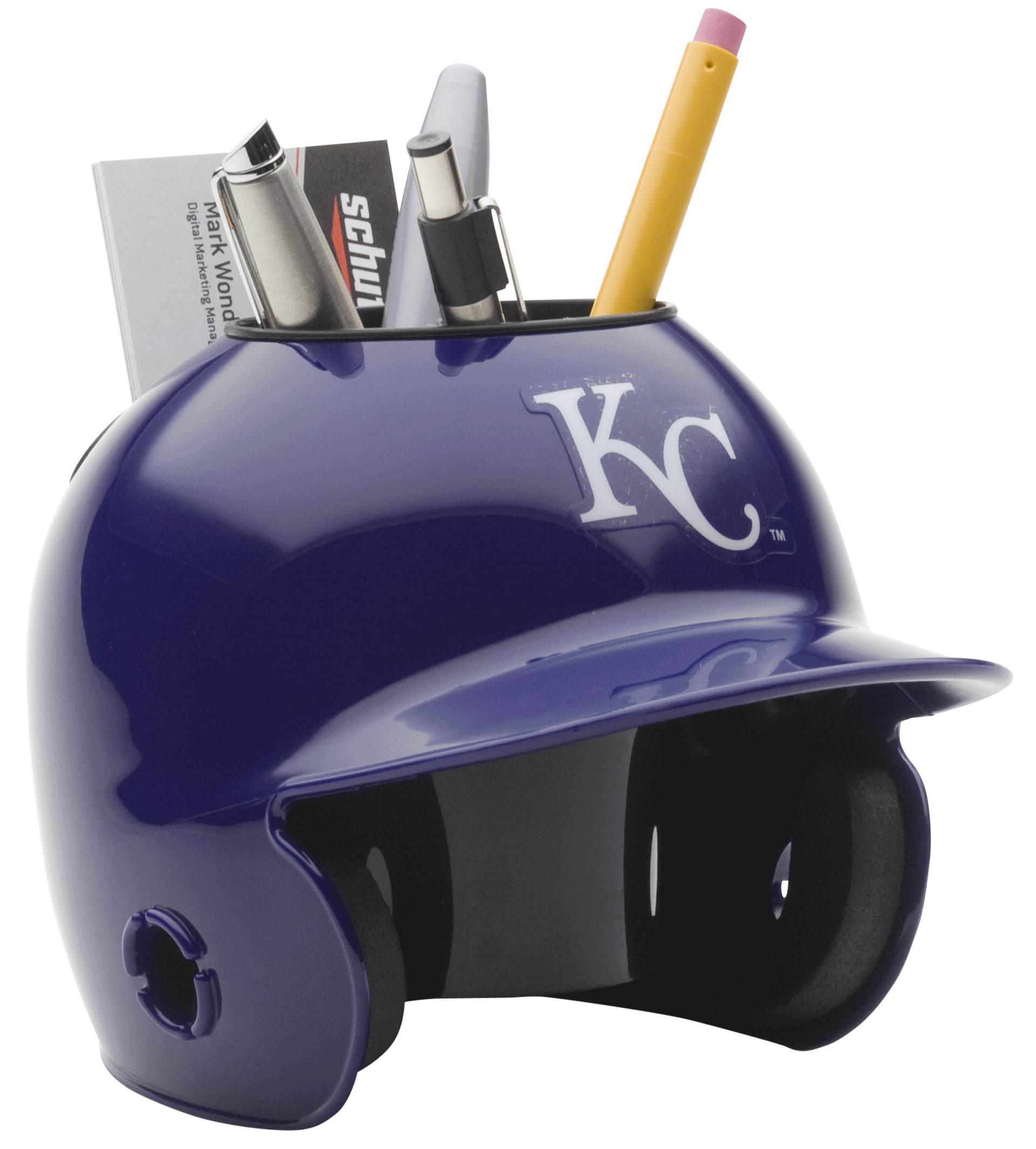 Kansas City Royals Miniature Batters Helmet Desk Caddy