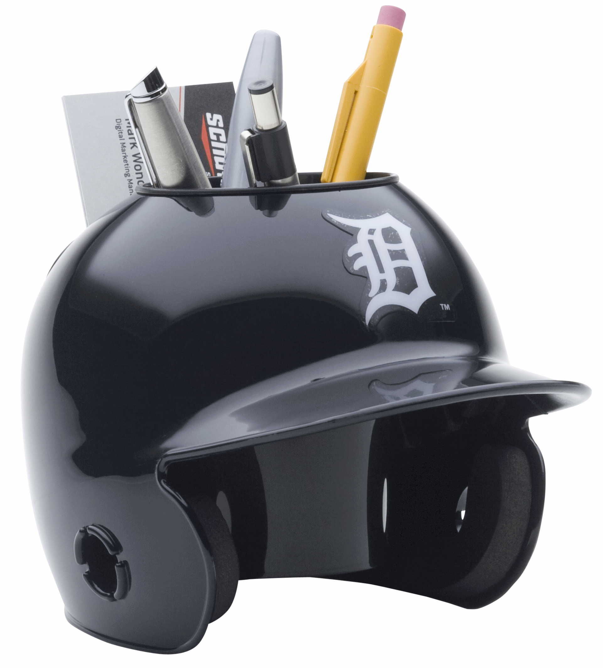 Detroit Tigers Miniature Batters Helmet Desk Caddy