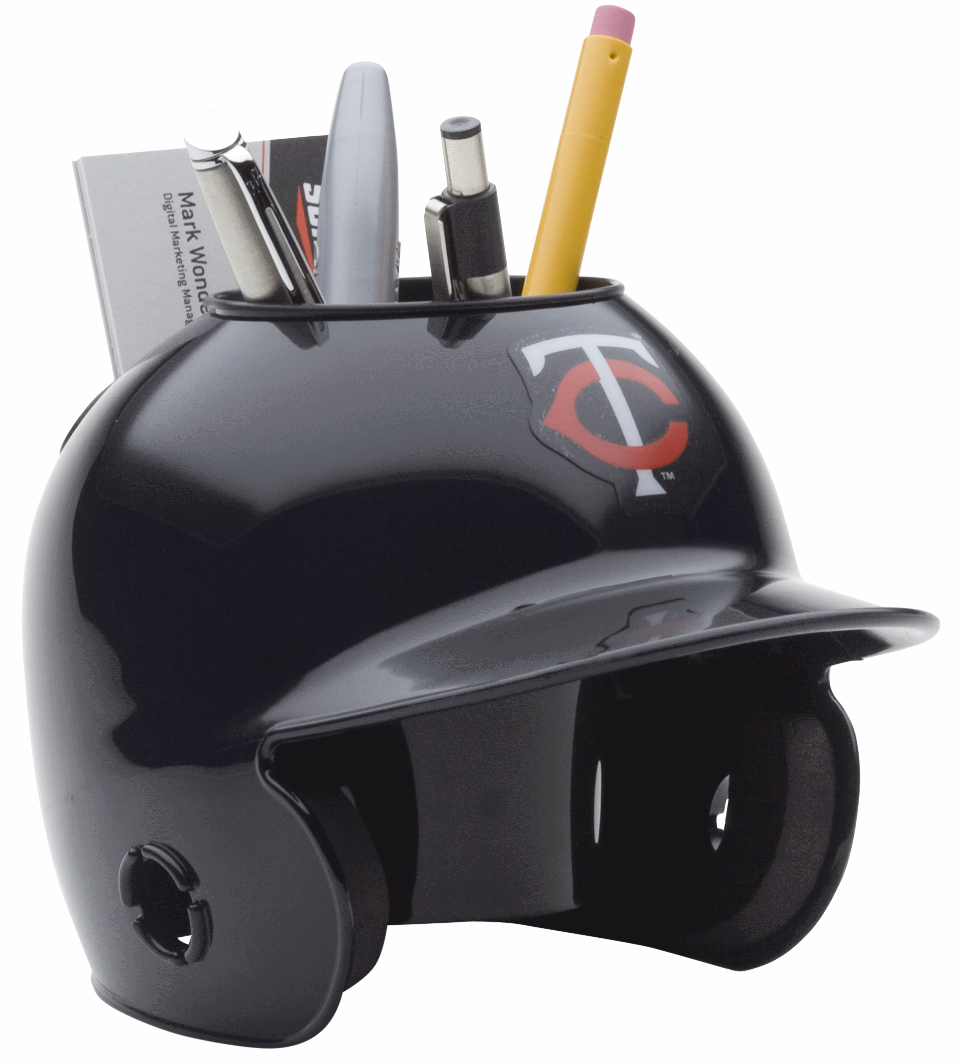 Minnesota Twins Miniature Batters Helmet Desk Caddy
