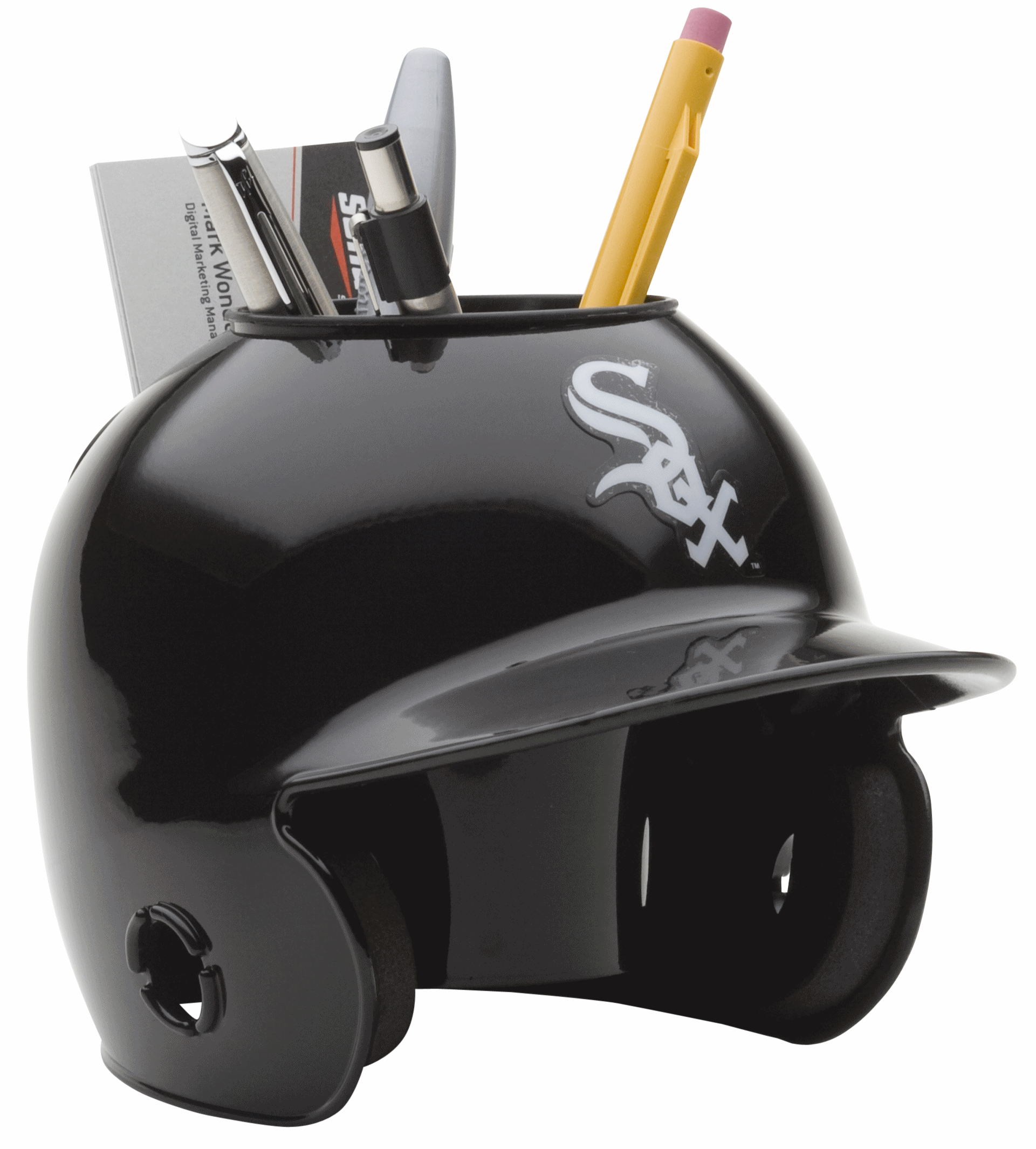 Chicago White Sox Miniature Batters Helmet Desk Caddy