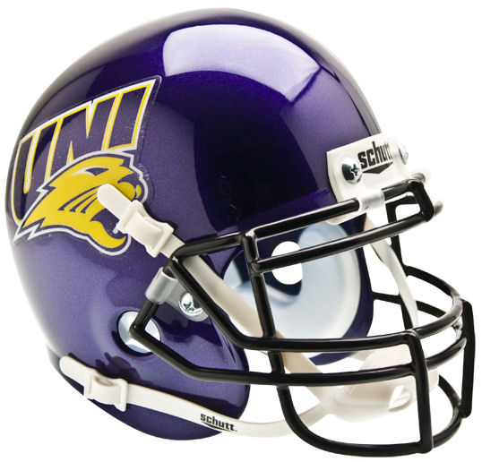 Northern Iowa Panthers Mini XP Authentic Helmet Schutt
