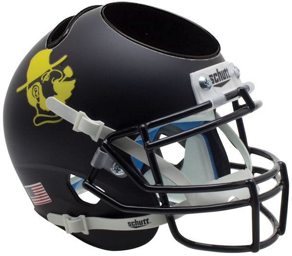 Appalachian State Mountaineers Miniature Football Helmet Desk Caddy <B>Yosef Black</B>