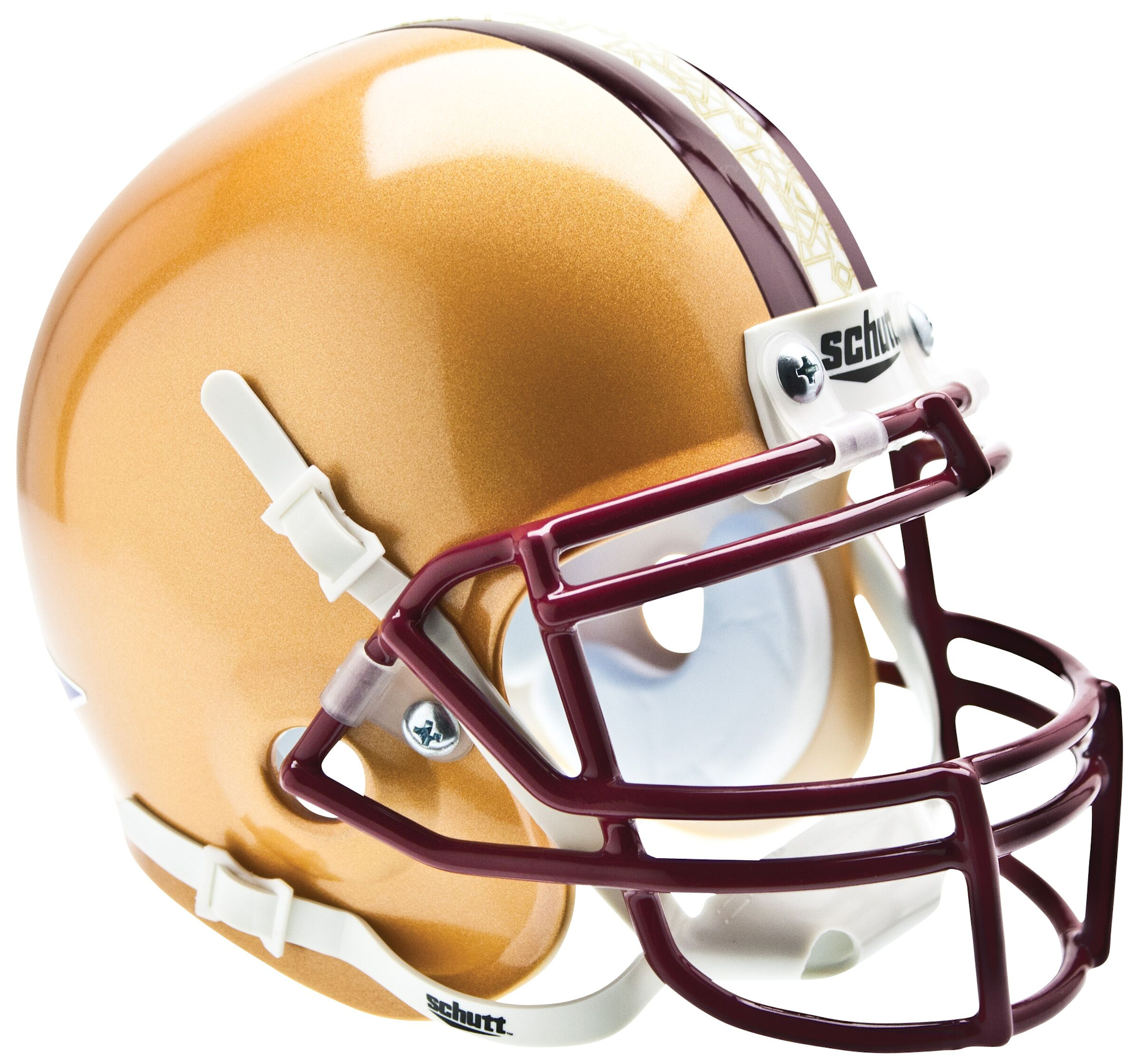 Boston College Eagles Mini Authentic Helmet Schutt <B>Stained Glass</B>