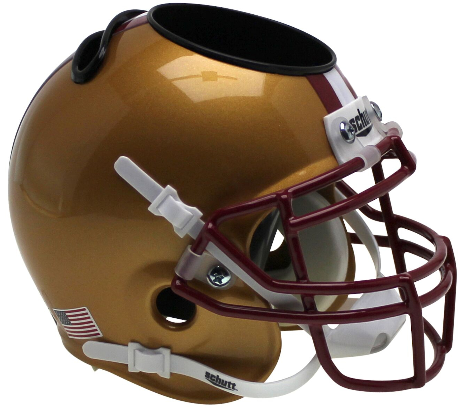 Boston College Eagles Miniature Football Helmet Desk Caddy <B>Stained Glass</B>