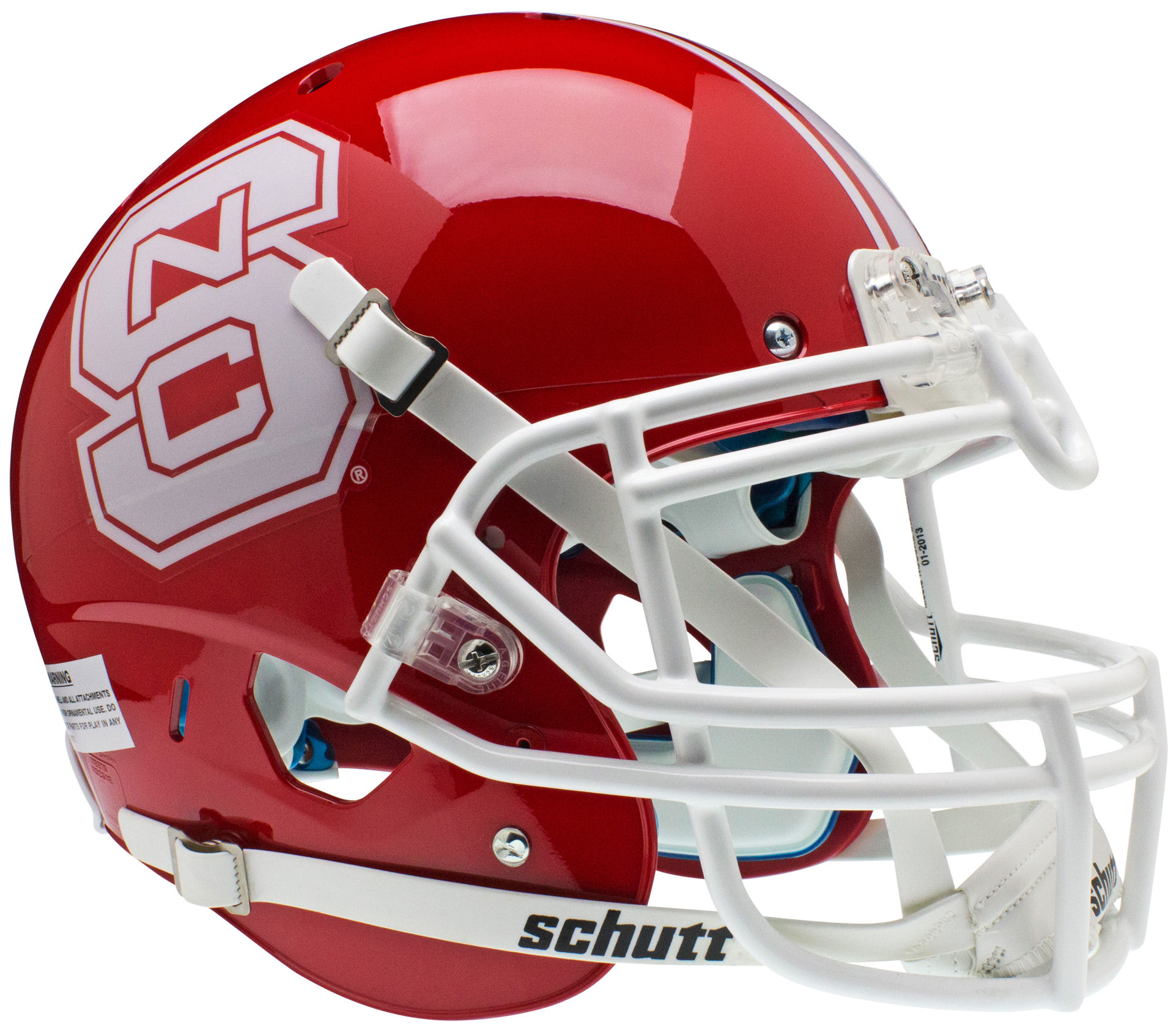 North Carolina State Wolfpack Authentic College XP Football Helmet Schutt <B>Red</B>