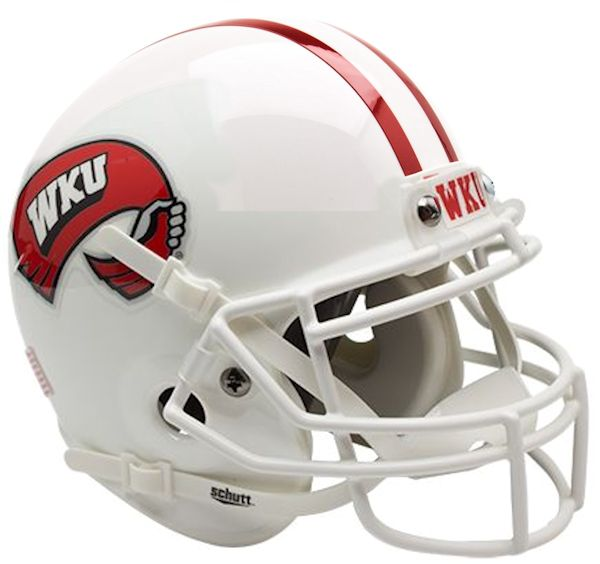 Western Kentucky Hilltoppers Mini XP Authentic Helmet Schutt