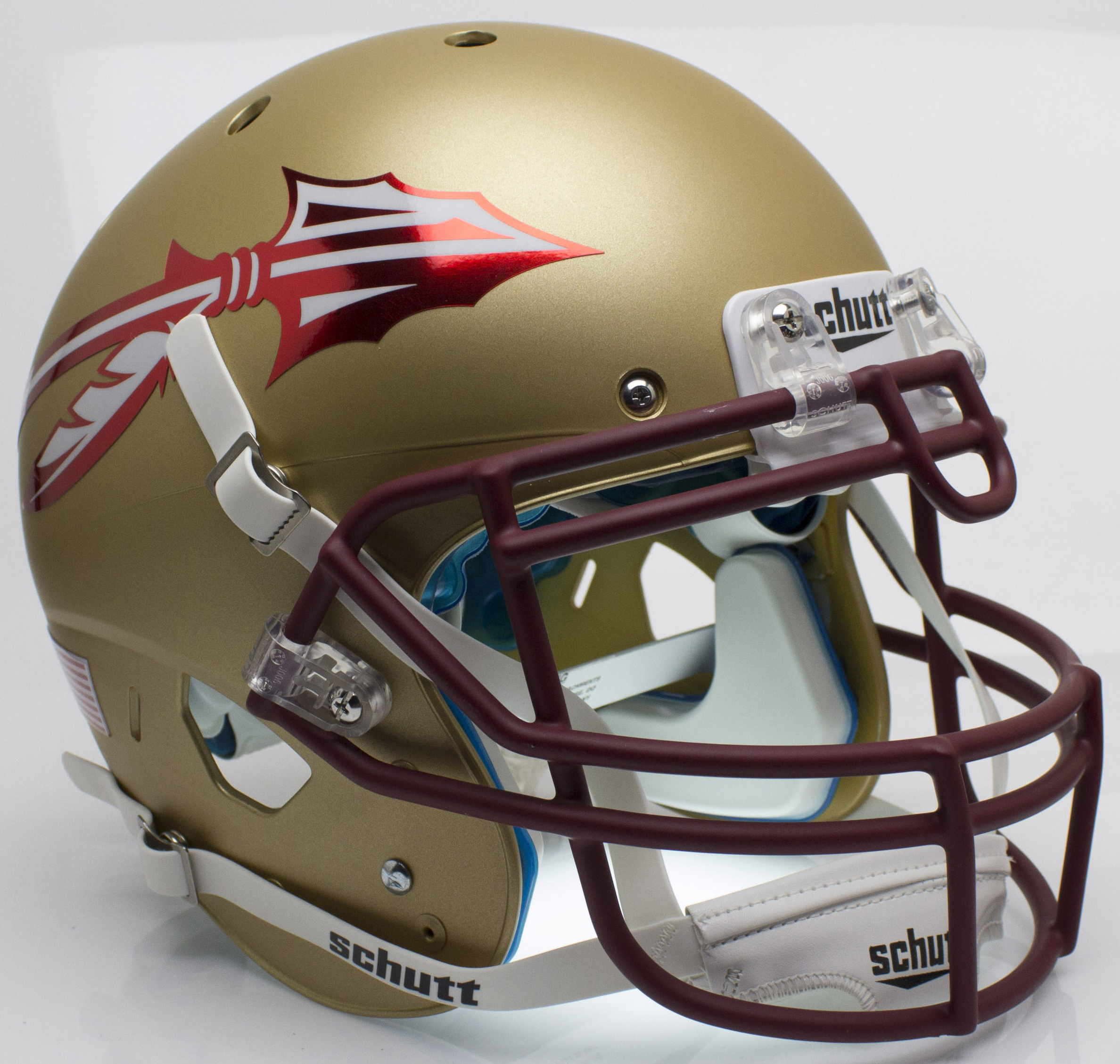 Florida State Seminoles Authentic College XP Football Helmet Schutt <B>Alt 2</B>