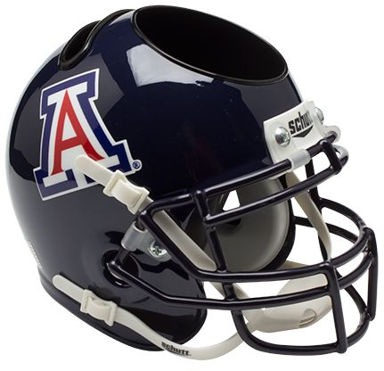 Arizona Wildcats Miniature Football Helmet Desk Caddy