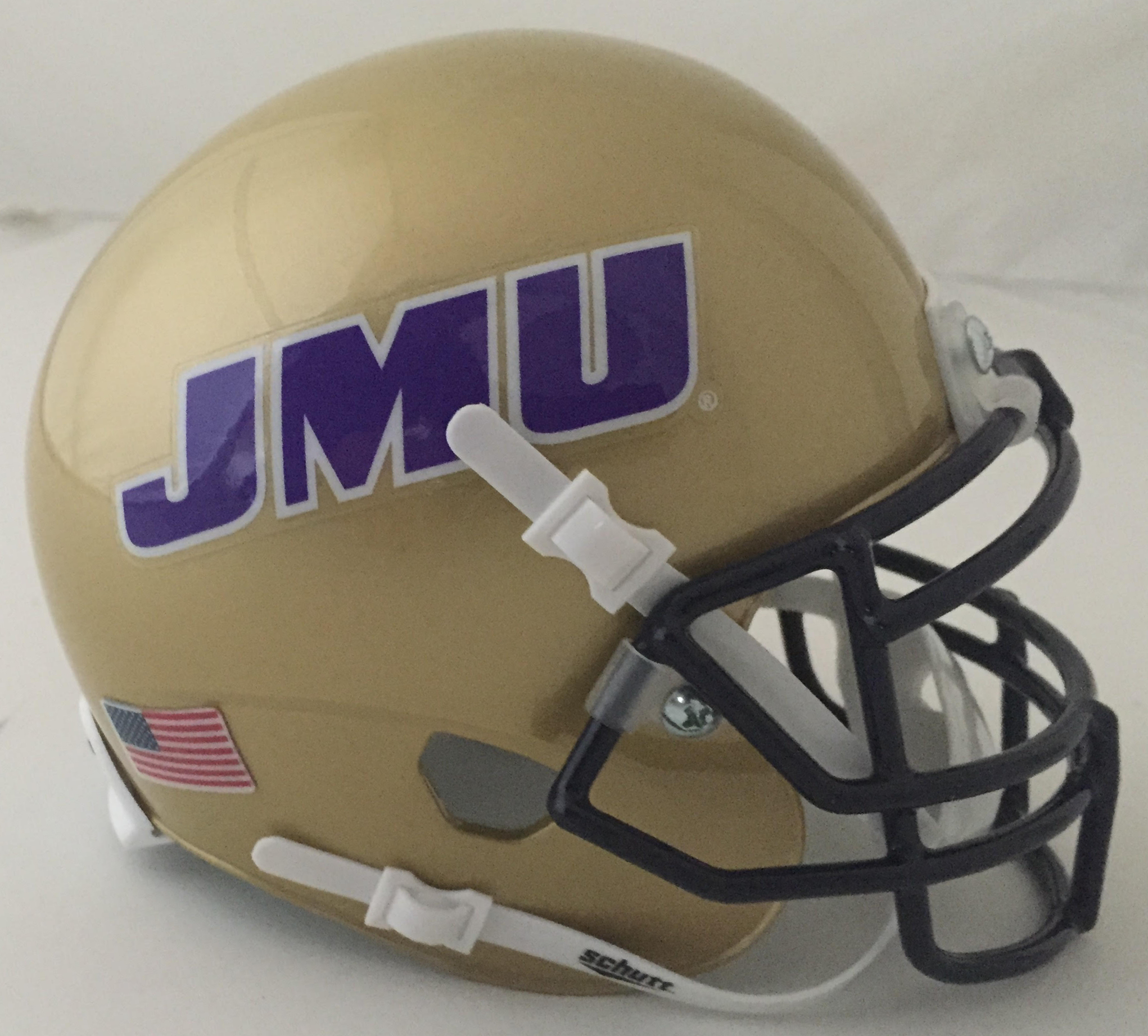 James Madison Dukes Mini XP Authentic Helmet Schutt