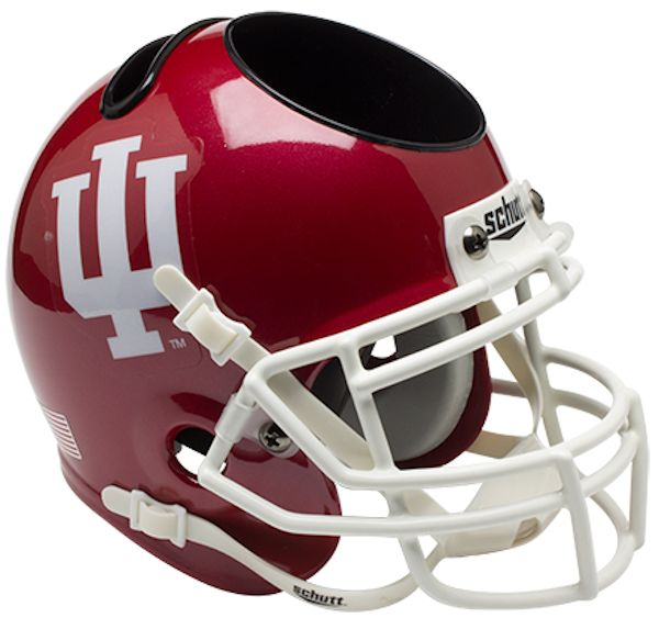 Indiana Hoosiers Miniature Football Helmet Desk Caddy