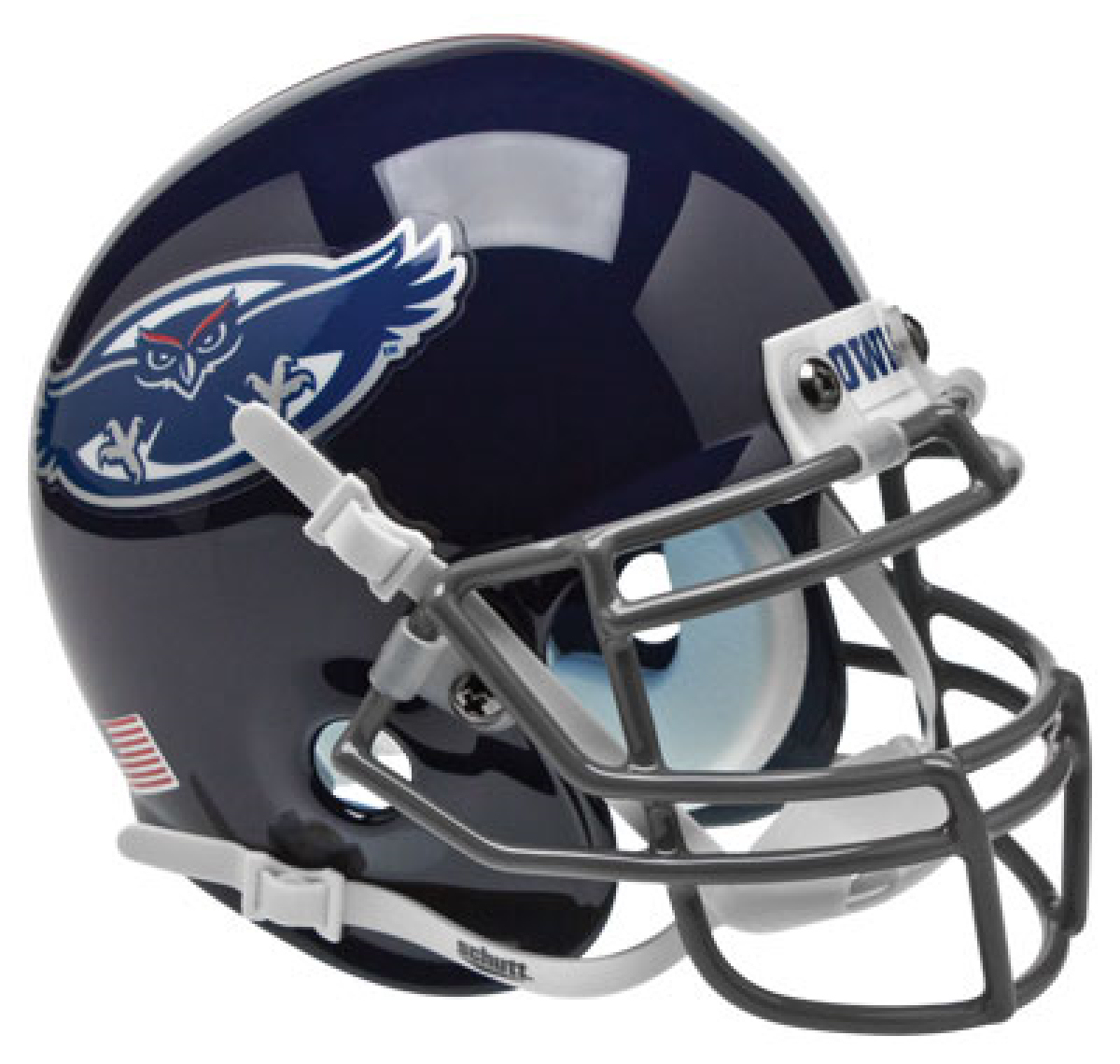 Florida Atlantic Owls Mini XP Authentic Helmet Schutt