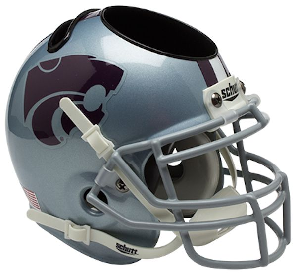 Kansas State Wildcats Miniature Football Helmet Desk Caddy