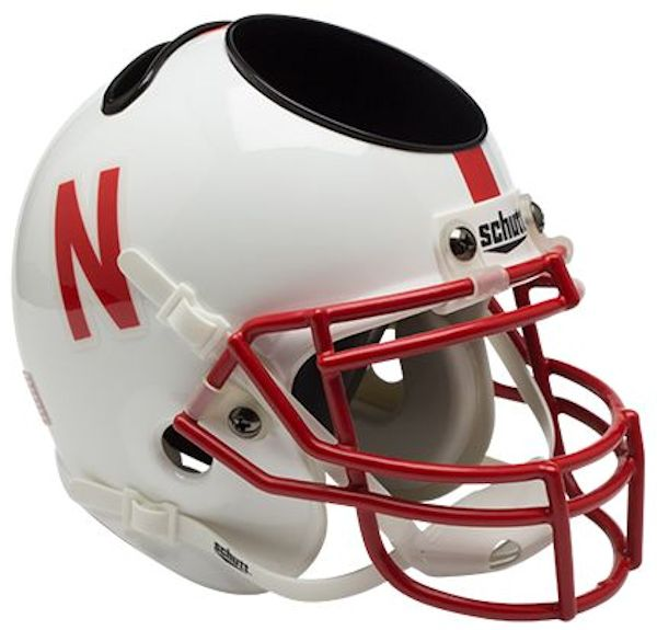 Nebraska Cornhuskers Miniature Football Helmet Desk Caddy