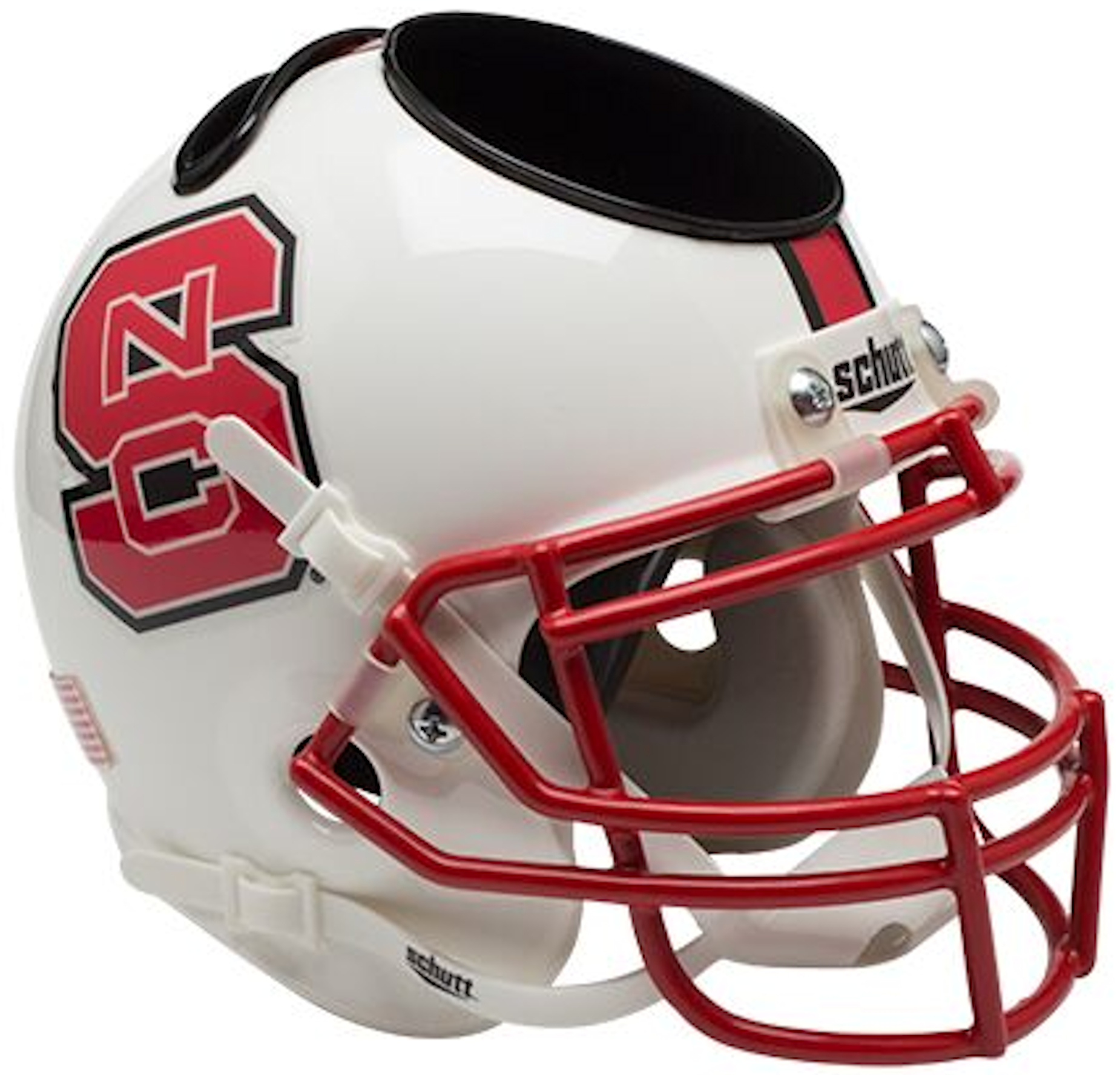 North Carolina State Wolfpack Miniature Football Helmet Desk Caddy