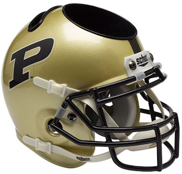 Purdue Boilermakers Miniature Football Helmet Desk Caddy