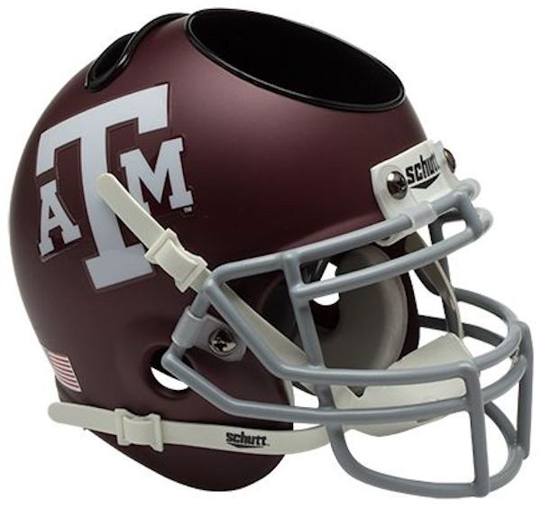 Texas A&M Aggies Miniature Football Helmet Desk Caddy