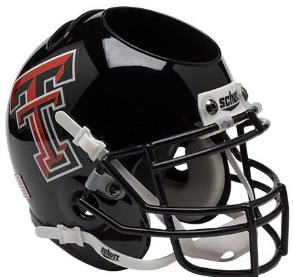 Texas Tech Red Raiders Miniature Football Helmet Desk Caddy