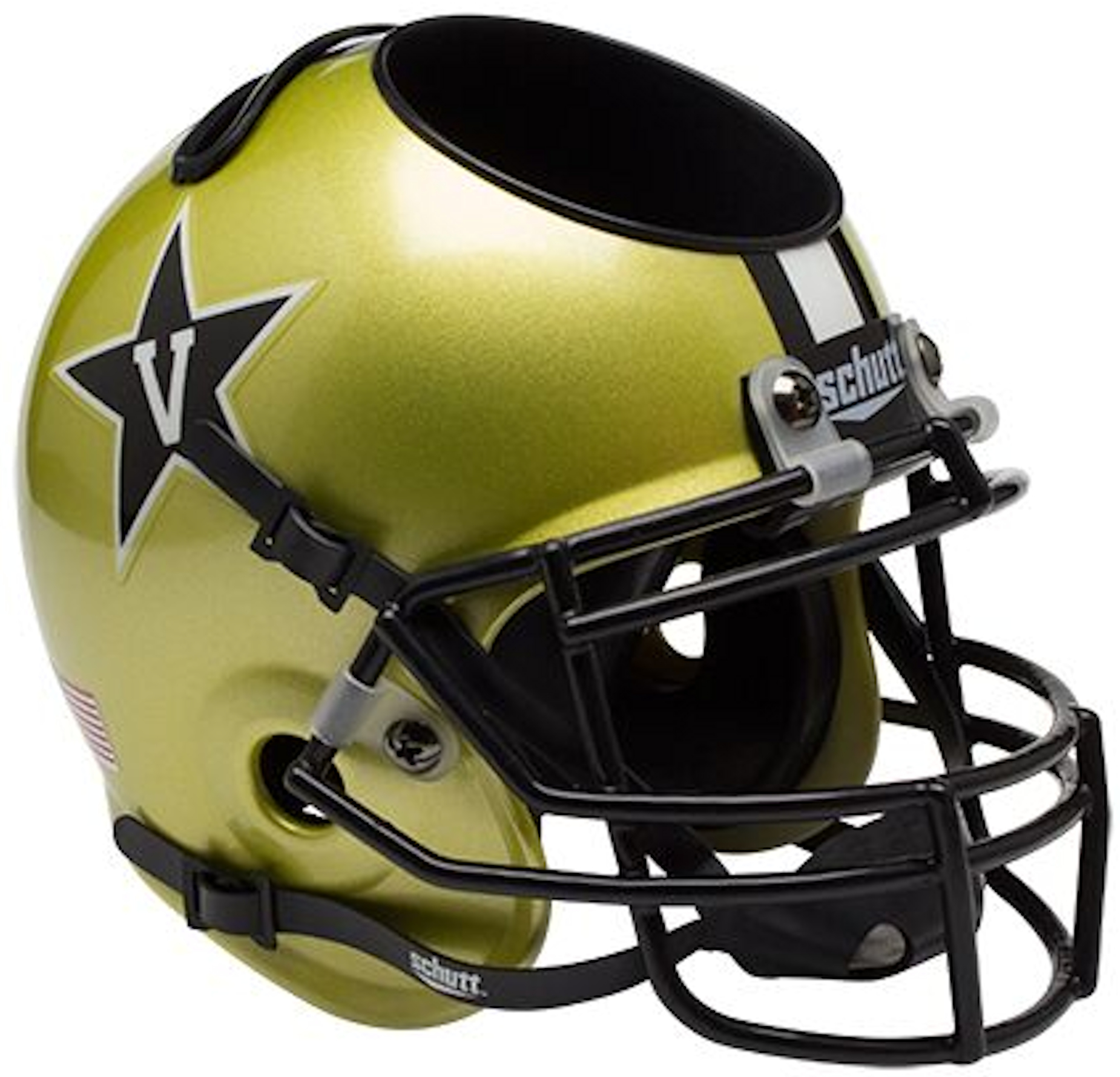 Vanderbilt Commodores Miniature Football Helmet Desk Caddy