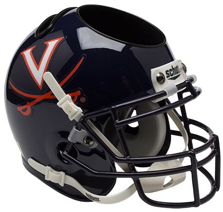 Virginia Cavaliers Miniature Football Helmet Desk Caddy