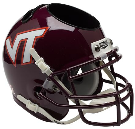 Virginia Tech Hokies Miniature Football Helmet Desk Caddy