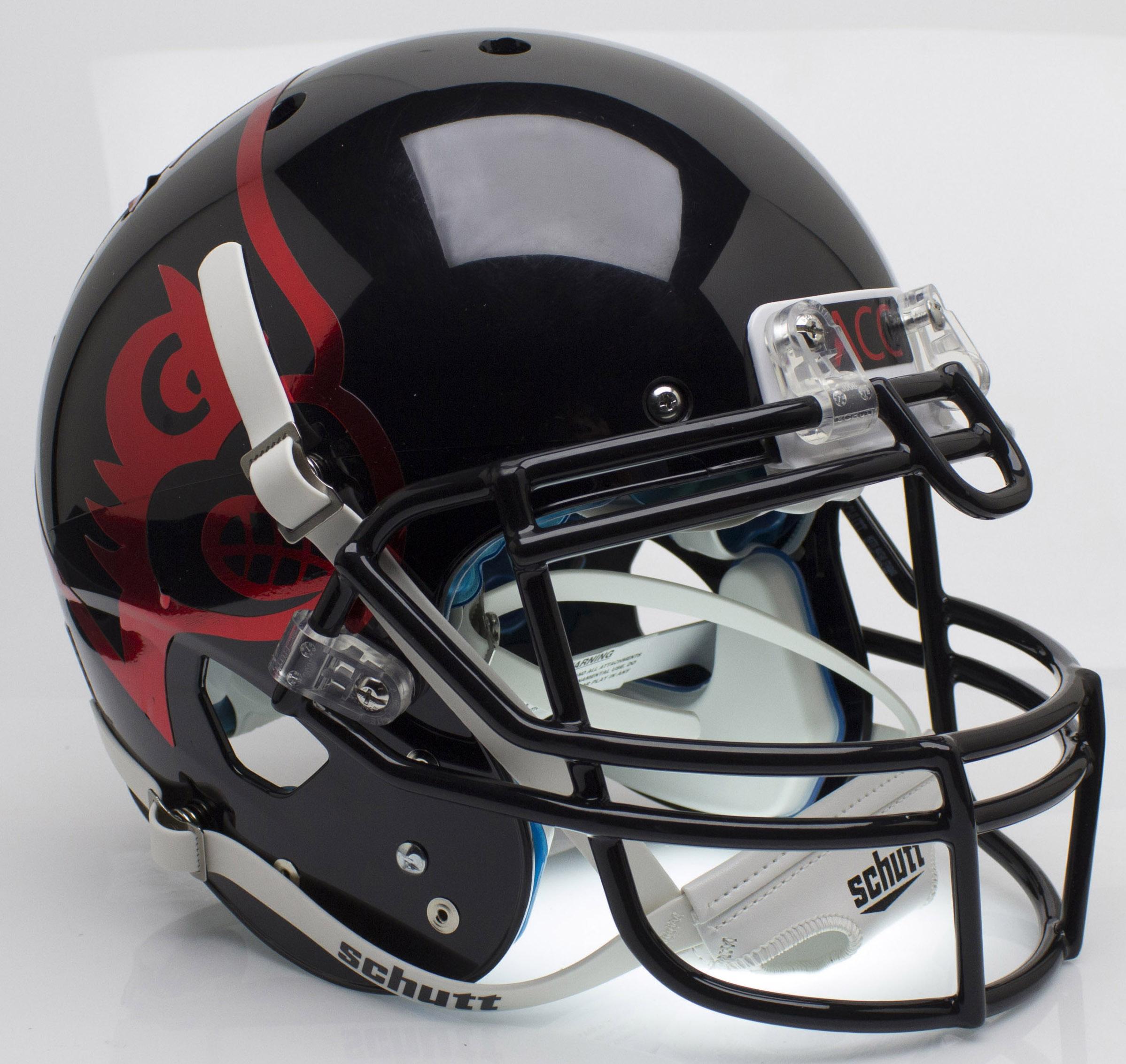 Louisville Cardinals Authentic College XP Football Helmet Schutt <B>Black</B>