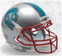 New Mexico Lobos Authentic College XP Football Helmet Schutt <B>Blue Decal</B>