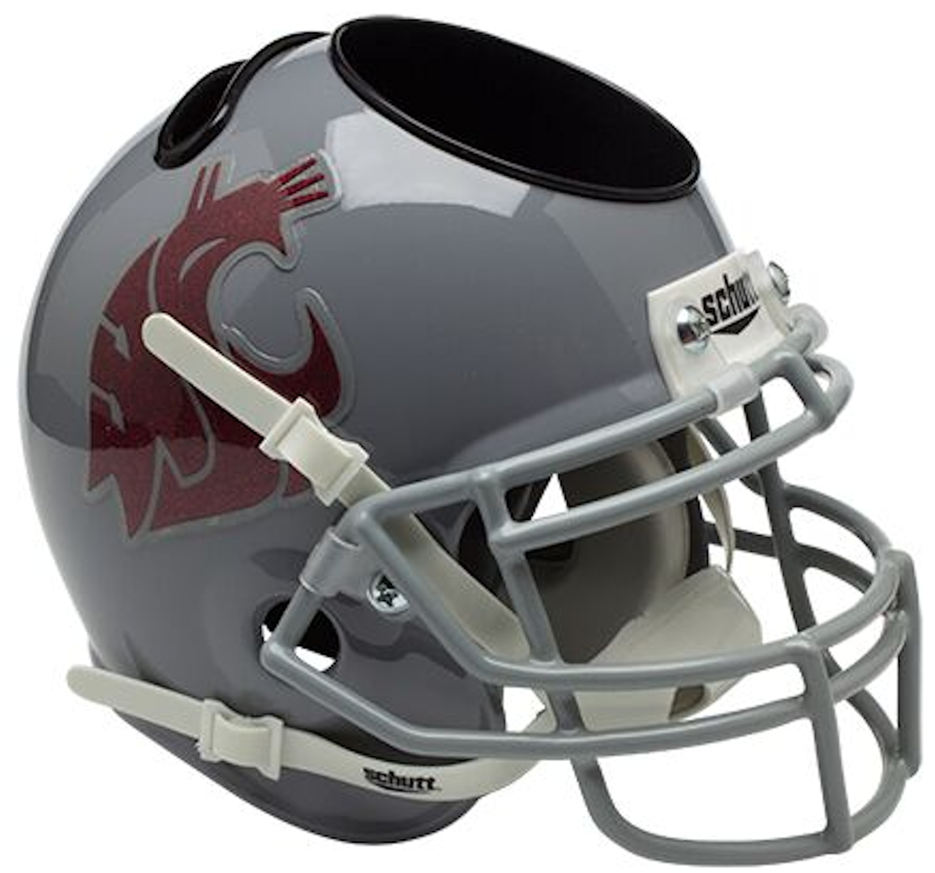 Washington State Cougars Miniature Football Helmet Desk Caddy
