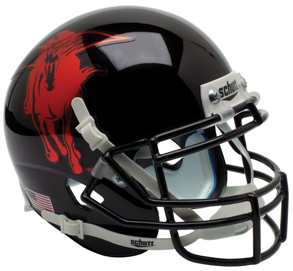 Texas Tech Red Raiders Authentic College XP Football Helmet Schutt <B>2013 Holiday Bowl</B>